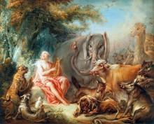 Орфей и животные - Буше, Франсуа