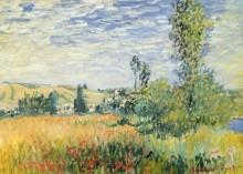 Пейзаж с видом на Ветей - Моне, Клод