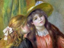 Портрет двух девушек - Ренуар, Пьер Огюст