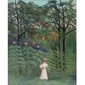 Женщина в экзотическом лесу - Руссо, Анри
