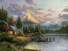 Тихое убежище у озера - Кинкейд, Томас