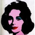 Серебряная Лиз (Liz argenté), 1963 - Уорхол, Энди