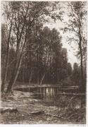 Затишье, 1885 - Шишкин, Иван Иванович