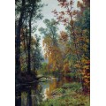 Осенний пейзаж. Парк в Павловске, 1888 - Шишкин, Иван Иванович