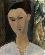 Голова женщины - Модильяни, Амадео