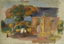 Бретонский пейзаж, 1902 - Ренуар, Пьер Огюст