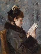 Портрет молодой женщины - Стивенс, Альфред