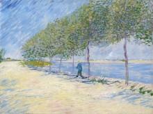 Вдоль Сены (Along the Seine), 1887 - Гог, Винсент ван