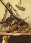 Охотничьи трофеи, 1862 - Моне, Клод