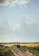 Полдень. В окрестностях Москвы, 1869 - Шишкин, Иван Иванович