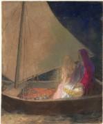 Лодка - Редон, Одилон