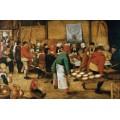 Крестьянская свадьба - Брейгель, Питер (Старший)
