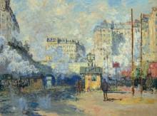 Вокзал Сен-Лазар - Моне, Клод