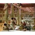 Каракалла и Гета (Празднование коронации императором Каракаллы) - Альма-Тадема, Лоуренс