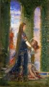 Саломея в саду - Моро, Гюстав