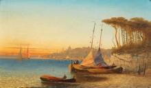 Вид на побережье Искьи близ Неаполя - Кауфман, Адольф