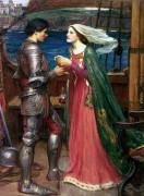Тристан и Изольда, выпивающие зелье - Уотерхаус, Джон Уильям