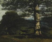 Кедровое дерево в Отвиле - Курбе, Гюстав