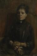 Портрет сидящей женщины (Portrait of a Woman Seated), 1886 - Гог, Винсент ван