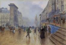 Бульвар Сен-Дени в Париже - Беро, Жан