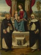 адонна с младенцем и святыми -  Гарофало (Тизи, Бенвенуто)