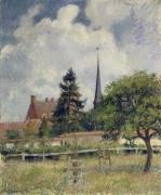 Церковь в Эрани, 1884 - Писсарро, Камиль