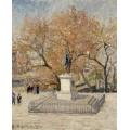 Скульптура Генриха IV, 1901 - Писсарро, Камиль