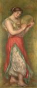 Танцовщица с бубном - Ренуар, Пьер Огюст