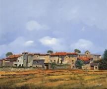 Сельский пейзаж - Борелли, Гвидо (20 век)