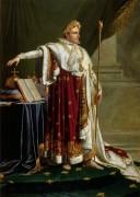 Наполеон в коронационной одежде - Жироде-Триозон, Анн-Луи
