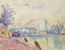 Порт во Влиссингене, 1896 - Синьяк, Поль