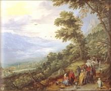 Пейзаж, 1612 - Бреггель, Ян (Старший)