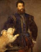 Федериго Гонзага, герцог Мантуанский - Тициан Вечеллио