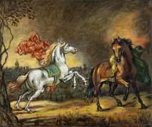 Испуганные лошади - Кирико, Джорджо де
