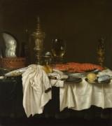 Натюрморт с лобстером -  Хеда, Виллем Клас