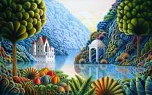Сказочный пейзаж - Рассел, Энди (20 век)