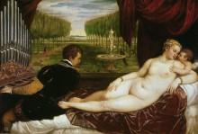 Венера с органистом - Тициан Вечеллио