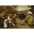 Крестьянский танец - Брейгель, Питер (Старший)