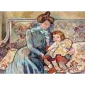 Мать с ребенком - Вальта, Луи