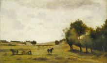Пейзаж близ Эпернона - Коро, Жан-Батист Камиль