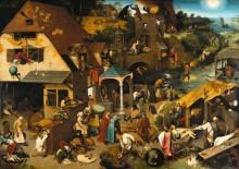 Фламандские пословицы - Брейгель, Питер (Старший)