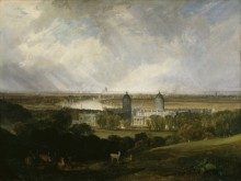 Вид на Лондон из Гринвичского парка - Тернер, Джозеф Мэллорд Уильям