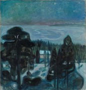 Белая ночь - Мунк, Эдвард
