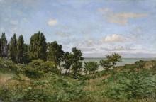 Прибрежный пейзаж - Моне, Клод
