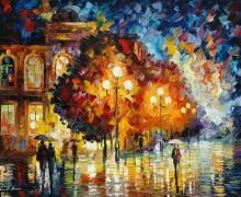 Ночные огни - Афремов, Леонид (20 век)