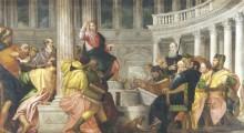 Христос с докторами во дворце, 1560 - Веронезе, Паоло (Калиари)