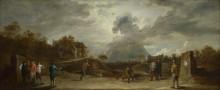 Крестьяне на стрельбе из лука -  Тенирс, Давид