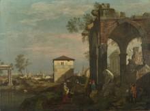Пейзаж с руинами Каприс