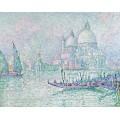 Венеция. Собор Санта-Мария делла Салюте. Зеленый, 1908 - Синьяк, Поль