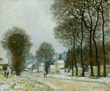 Снегопад - Сислей, Альфред
